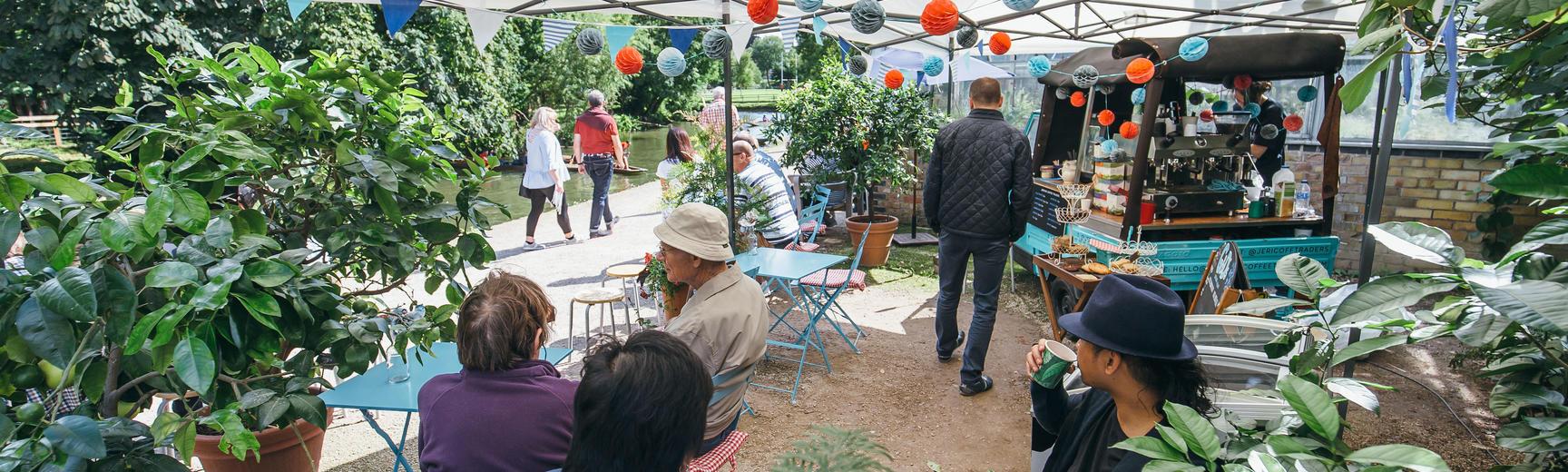 Jericho Coffee Traders At The Garden Oxford Botanic Garden