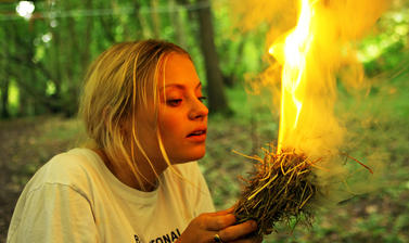 Wilderness Pioneers flames