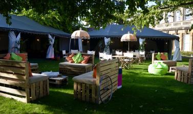 Private Event in the Garden