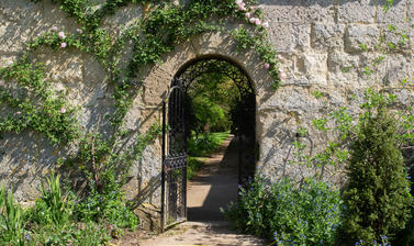 Gate to the Walled Garden - Oxford Botanic Garden