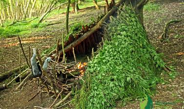 Wilderness Pioneers tri shelter