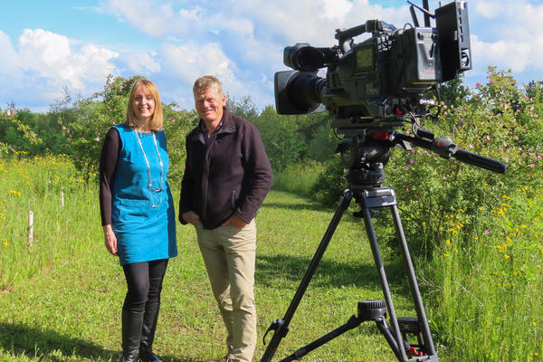 bbc countryfile  harcourt arboretum  filming