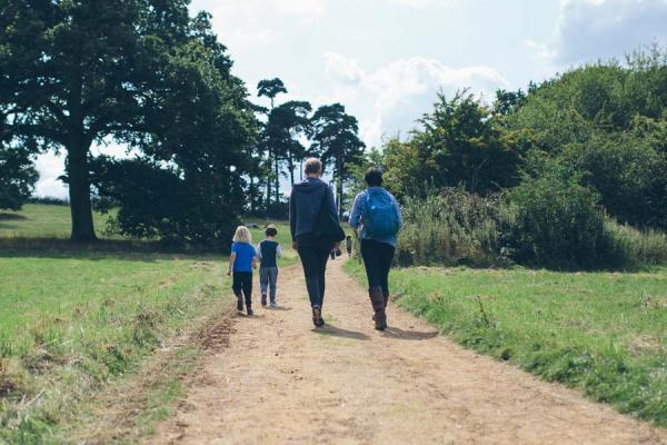Family Walking Arboretum Meadow (Wallman Lo Res)