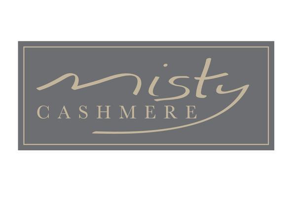misty cashmere logo with border