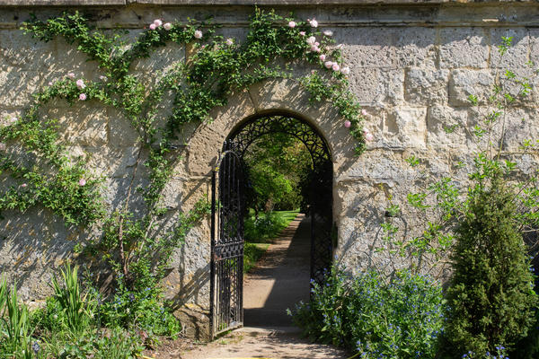 Gate to the Walled Garden - Oxford Botanic Garden
