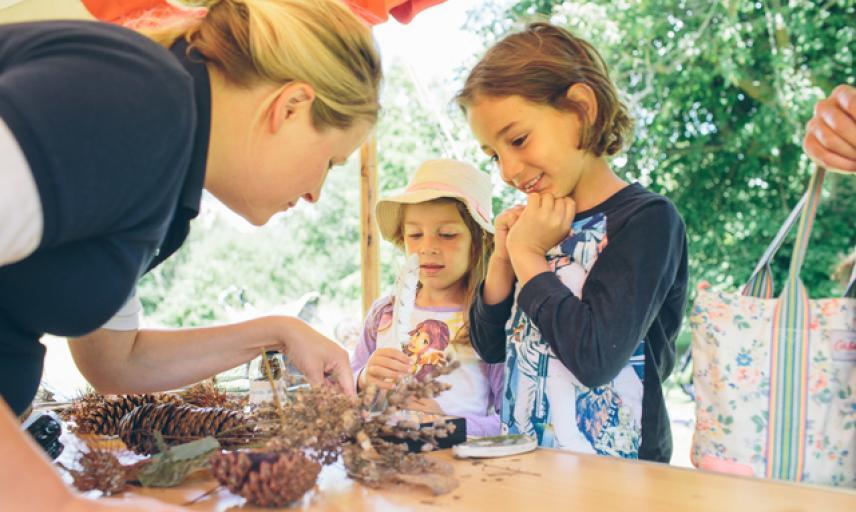 Family Craft Event Arboretum 4