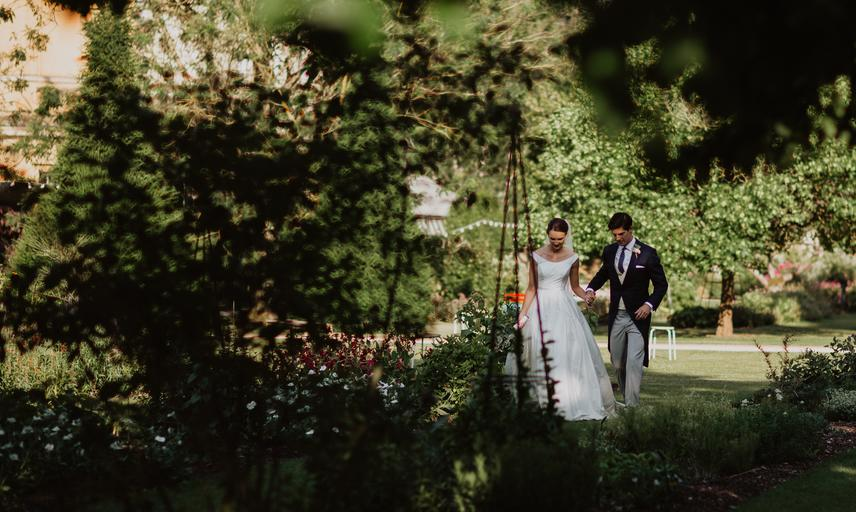 oxford botanic garden wedding