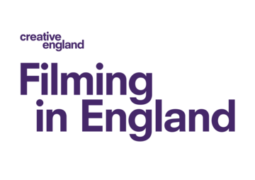 Filming in England logo